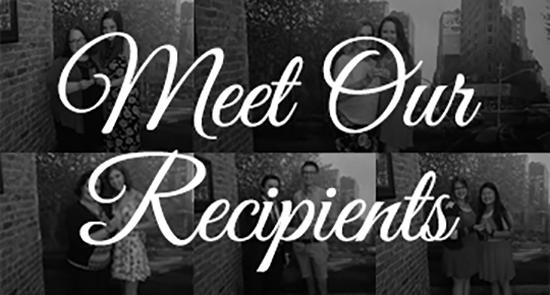 Meet the Recipients