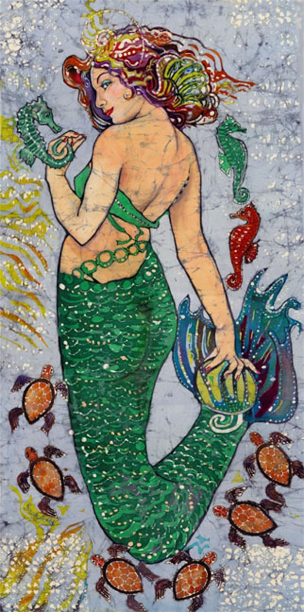 Mermaids Paper Dolls