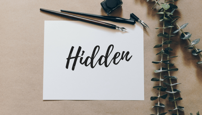 Hidden: Find Yourself in the Grip of Grace