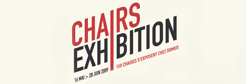 Chairs Exhibition, Domus, 2009