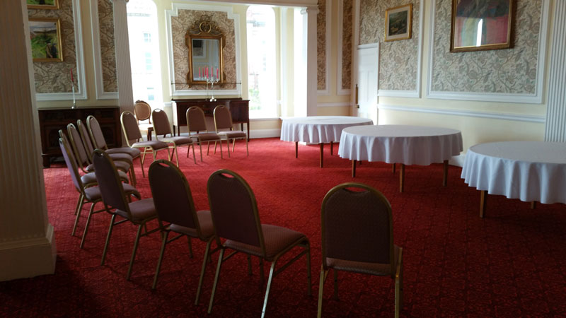 The grand drawing room in folkestone