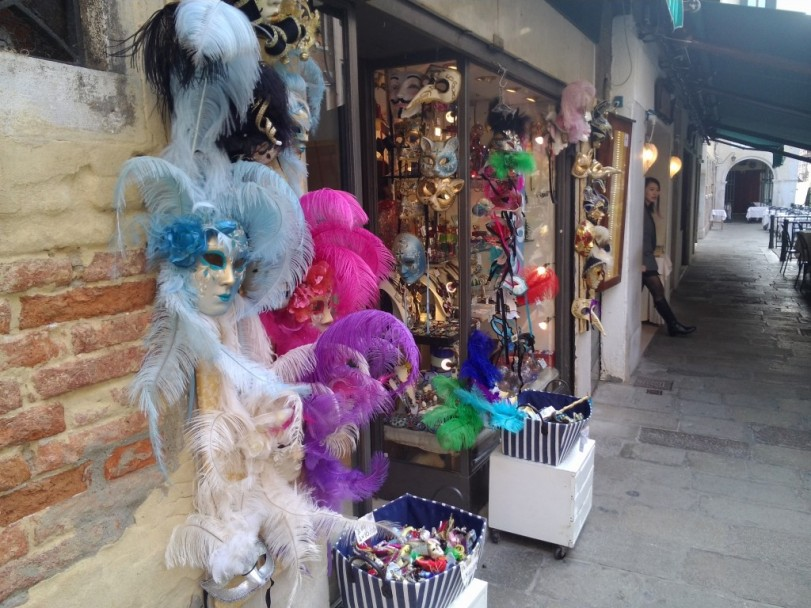The carnival masks of Venice
