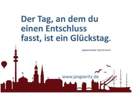 Glückstag - Jan Göritz - Heilpraktiker für Psychotherapie, Psychologischer Berater, Psychotherapeut (HpG) in Hamburg