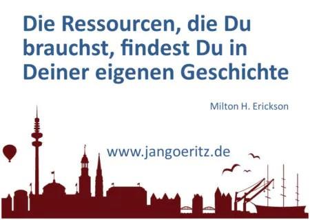 Erickson - Jan Göritz - Heilpraktiker für Psychotherapie, Psychologischer Berater, Psychotherapeut (HpG) in Hamburg