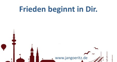 Frieden - Jan Göritz - Heilpraktiker für Psychotherapie und Psychologischer Berater in Hamburg