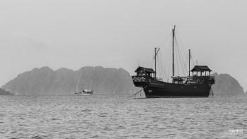 Vor der Küste Lantas - Piratenflair