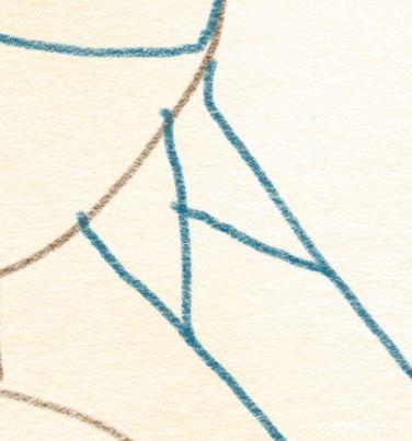 geflochtene zöpfe zeichnen