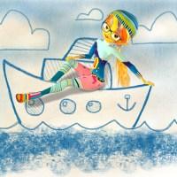 Boot zeichnen in 3 Minuten
