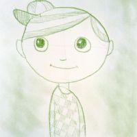 Gesichter zeichnen - Jungs Gesicht