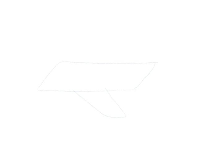 Flugzeug Zeichnen Seitenfluegel