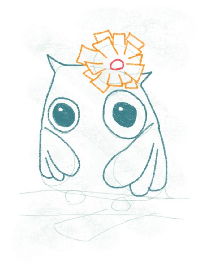Eule_zeichnen_kontur_oben