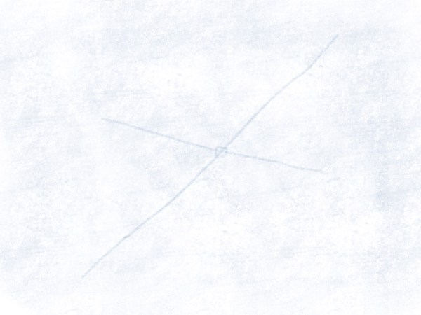 Segelflugzeug - Flügel andeuten