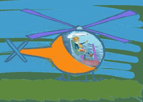 Hubschrauber zeichnen - so geht's