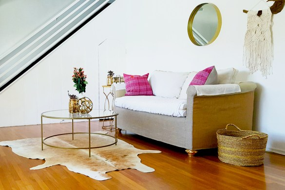 Vintage Style Home Staging