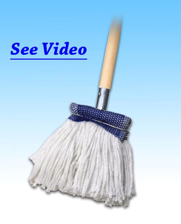Baseboard Mop with Handle