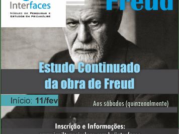 Oportunidade: Estudo tratará os Conceitos Fundamentais da Psicanálise em Freud