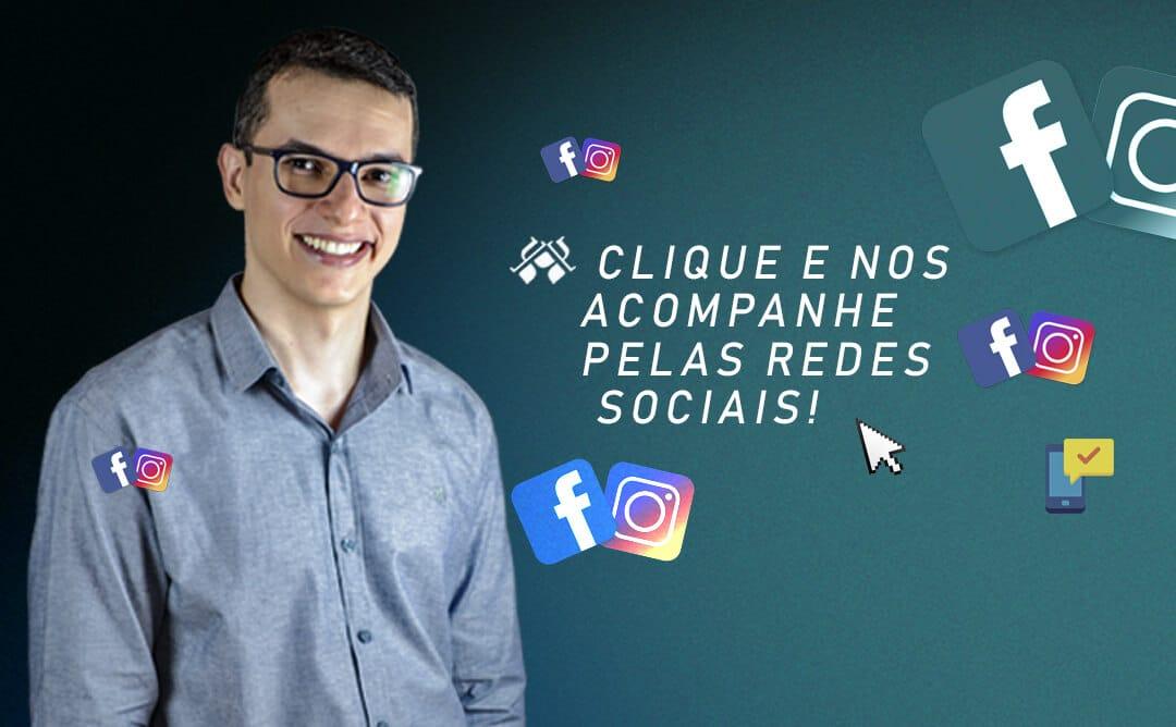 Nos acompanhe pelas redes sociais!