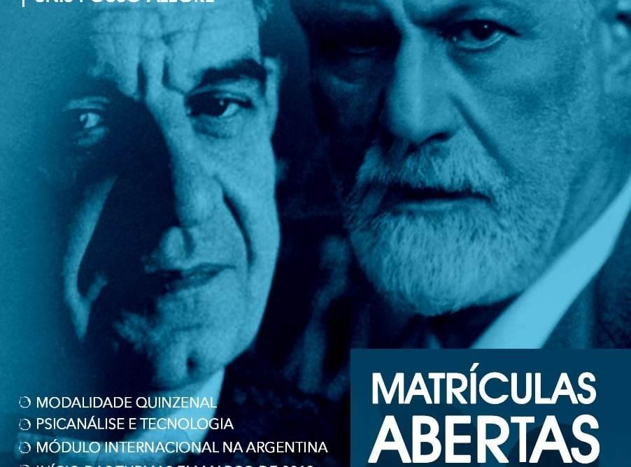 [Início em Março] Pós-Graduação em Psicanálise terá módulo na Argentina