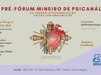 [Inscrição] Pré-Fórum Mineiro de Psicanálise – Pouso Alegre