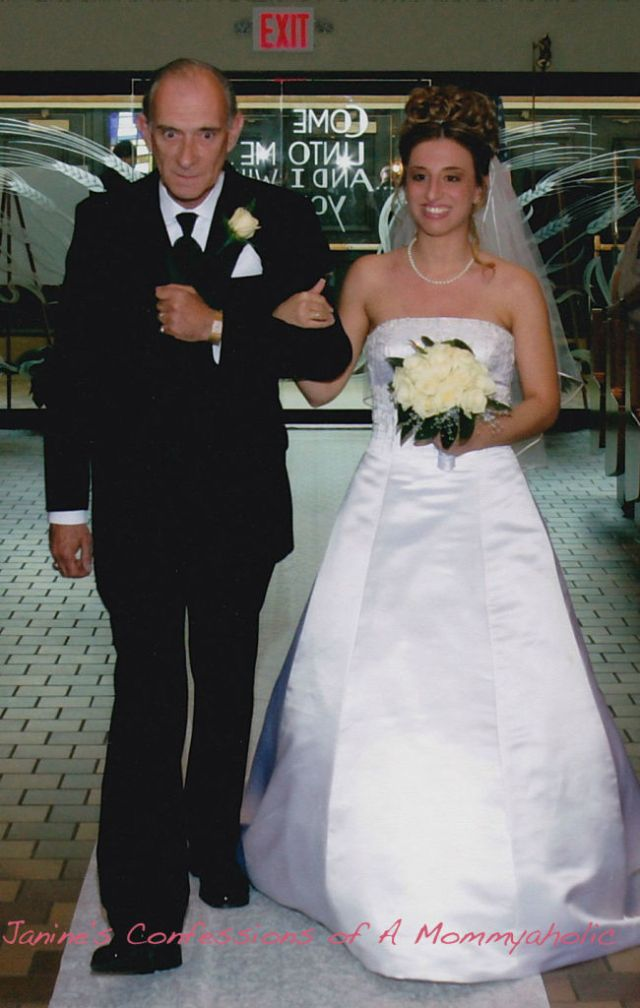 Walking Down The Aisle With My Dad!!!