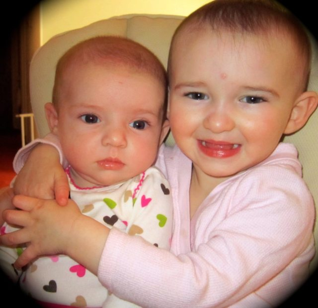 My Two Babies--Valentine's Day 2011