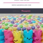 Peeps Bunnies Easter Cake Recipe