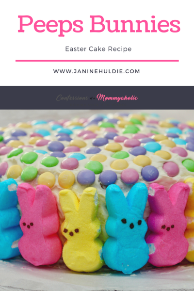 Peeps Bunnies Easter Cake Recipe