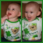 Happy St. Patrick's Day–Flashback Style