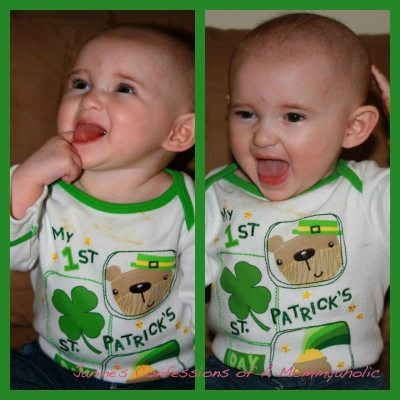 Happy St. Patrick's Day–Flashback Style