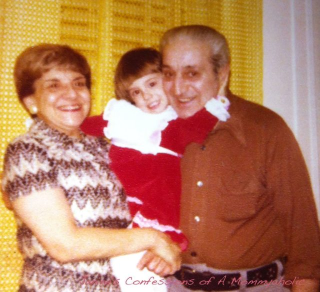 Both My grandmother and Grandfather with Me When I Was a Kid