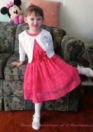 Emma's Pretty Easter Dress!!
