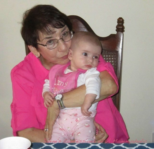 Aunt Gloria and Lily Spring 2011