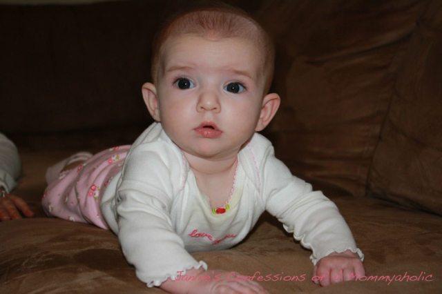 Lily Crawling!!