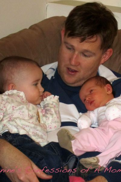 Daddy and his babies 2010