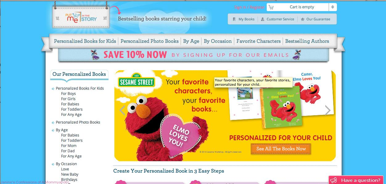 debbfc2ede7 Put Me In the Story Personalized Book Review & Giveaway ...