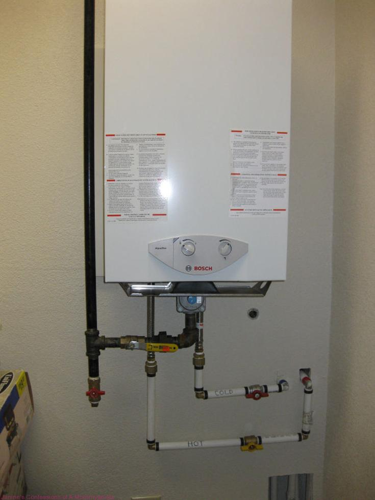 Another Great Way to Save-Bosch Tankless Heater