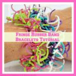 Fringe Rubber Band Bracelets Tutorial~Part 2