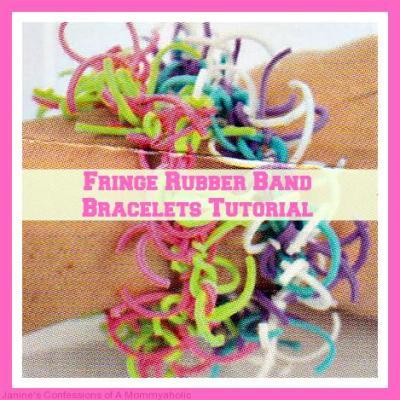 Fringe Rubber Band Bracelets Tutorial~Part 2