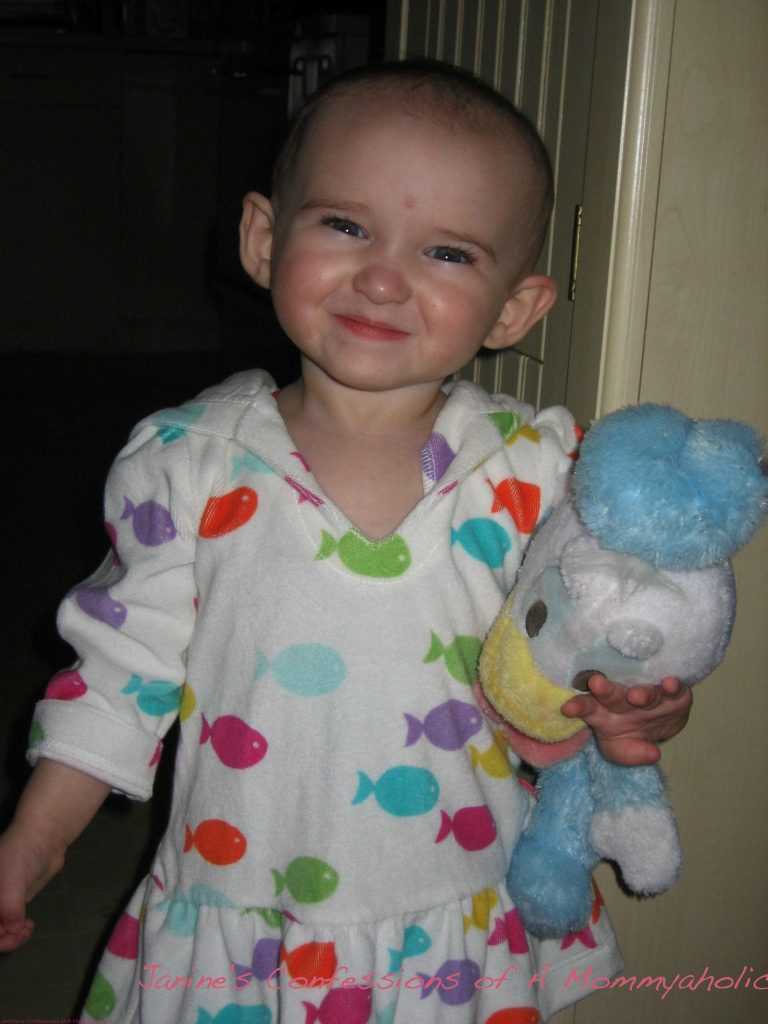 Emma Smiling in 2010 - A Few Months Before We Started to Try Potty Training