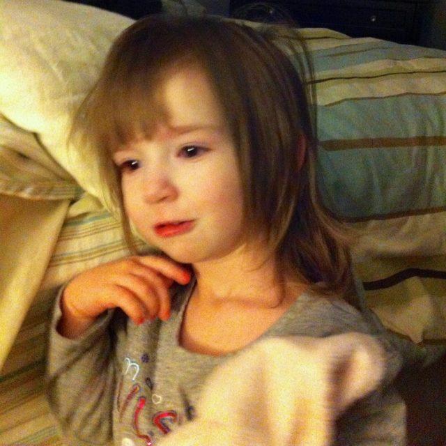 My Linus-Who Loves Her Blankie!