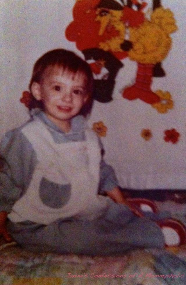 Me At Around 2 years Old!