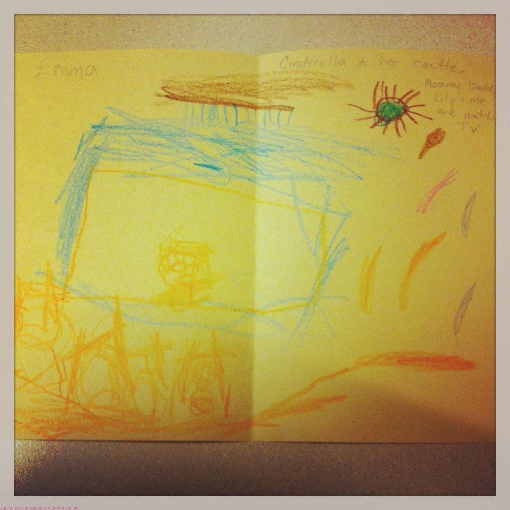 Emma's Artwork & Story from School