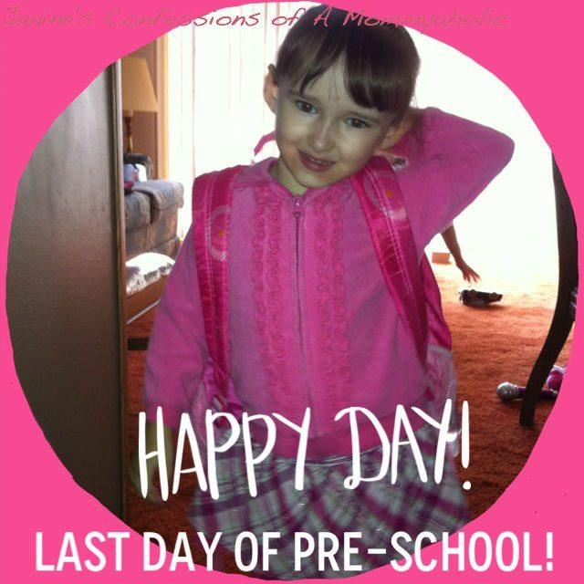 Last Day of Pre-School 2013