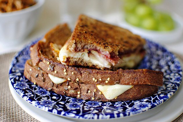 Grilled Goat Cheese Sandwich-Dinner