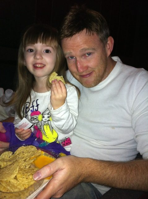 Kevin and Lily Also Eating Nachos!