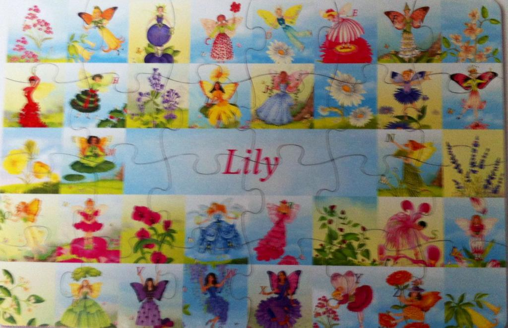 Lily's Personalized Puzzle