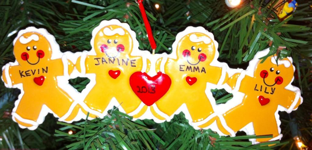 Gingerbread People Ornament 2013