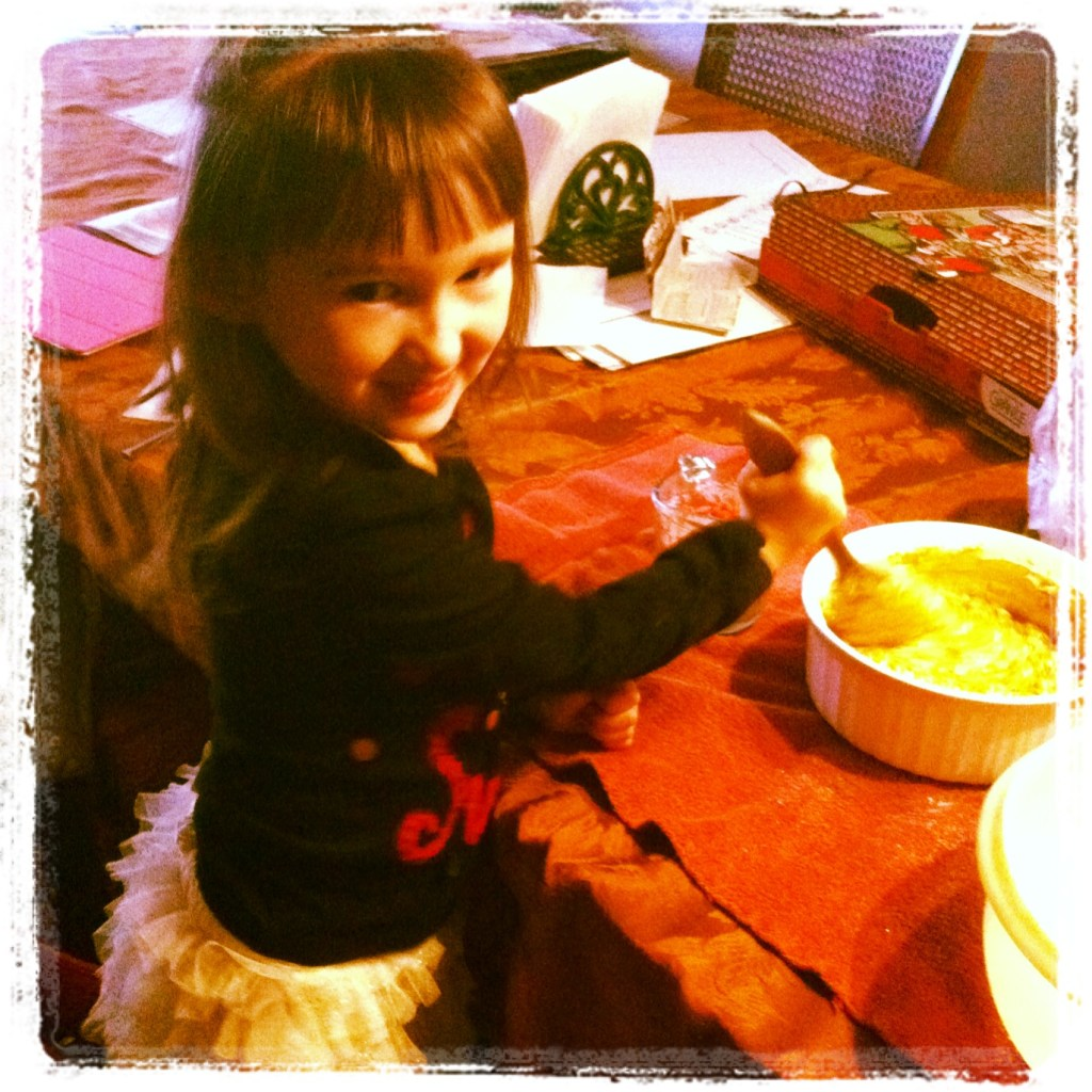 Emma Mixing Cookies