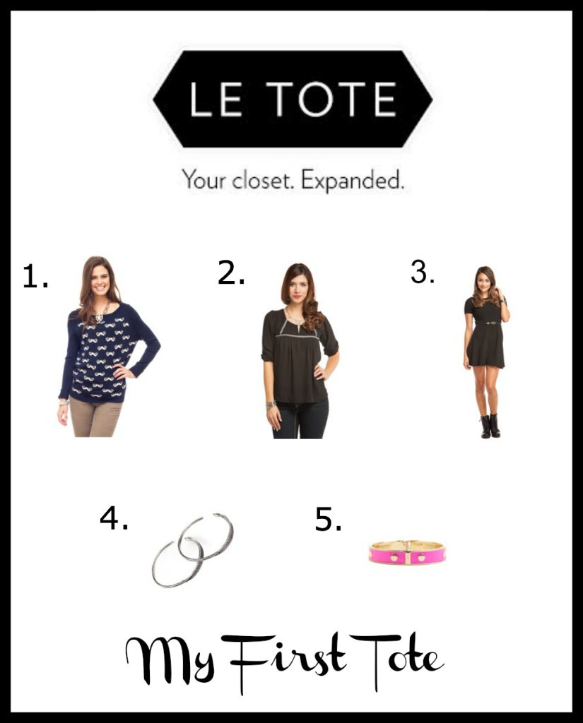 Le Tote First Tote Choices