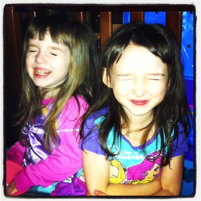 My Girls Doing What They Do Best and Being Silly!